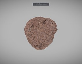 Porous Igneous Rock 3D asset
