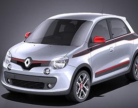 Renault Twingo 2017 VRAY 3D model