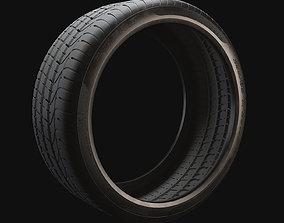 3d P Zero Tyre 3D model