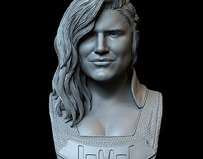 3D printable model Gina Carano as Cara Dune