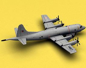 3D model P-3 Orion Portugal