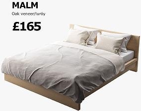 3D IKEA MALM bed
