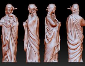 3D print model Statue 1 of saint Notre Dame