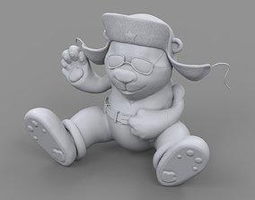 3D print model ear flaps