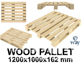 transport wood pallet 3D