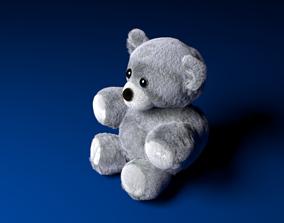 Teddy bear 3D model toy