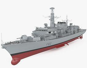 3D Type 23 frigate