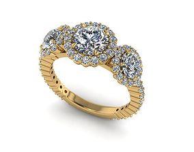 3D print model Wedding Ring R0011
