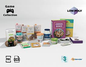Vegan groceries 2 3D asset