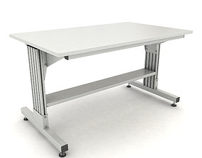 adjustable working table 3D model