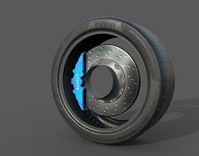 3D model Pirelli Tire