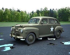 US Army staff car 3D