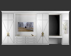 3D model TV stand and Dressing table 46