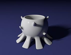 Spikes bowl 3D print model