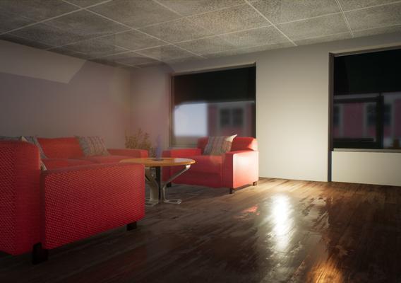Sofa Render by HkArtz