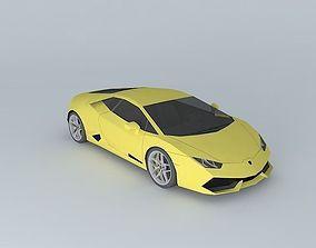 3D 2015 Lamborghini Huracan LP610-4