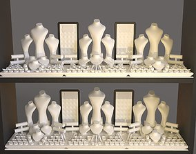 Window Display set 3D printable model
