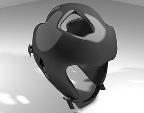 3D Martial-Art Headguard - Type 1