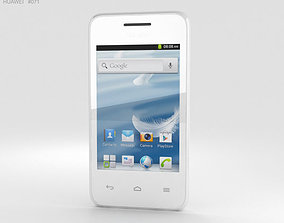 Huawei Ascend Y220 White 3D