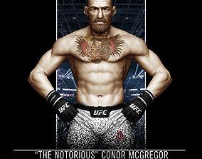 Conor McGregor 3D Print conor