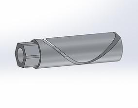 3D printable model Airsoft Silencer