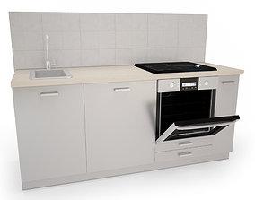 Module Kitchen and Appliances 3D
