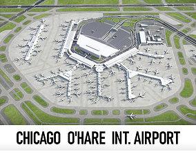 3D asset OHare International Airport