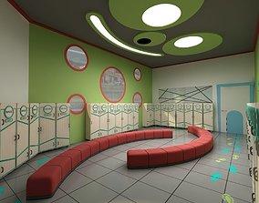 Shoes Room For Nursery 3D model