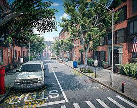 Street New York 3D apartment