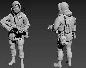 Russia Soldier ArcticSpetsnaz 3D printable model