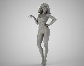 Flirtatious 3D print model