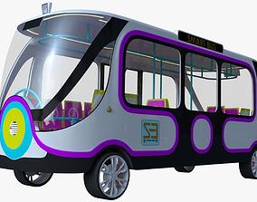 Smart Minibus 3D model vehicle