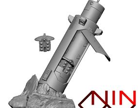 sci Coral Drop Capsule 3D printable model