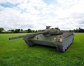 Tank T-72 LODs Included 3D model