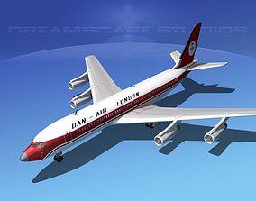 3D Boeing 707 Dan-Air London