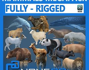 3D rigged Pack - Mammals