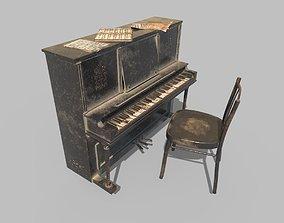 Dusty Piano 3D PBR