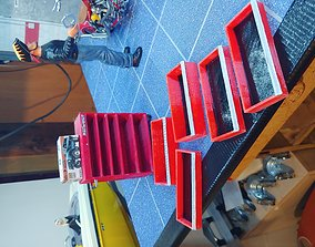 1 10 scale mastercraft tool box 3D model