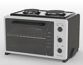 3D model Mini Oven Luxell LX-3560