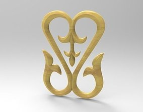 3D print model Woodcarving decor for CNC