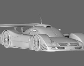 3D asset Mercedes Benz CLR99 CLK GT
