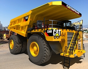 3D model Caterpillar 797F Mining Truck