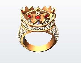 Tupac designed ring 3D printable model