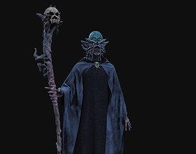3D model Dark Wanderer - Stylized wizard character
