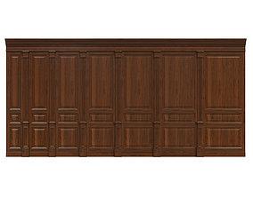 Wood panels 05 3D model