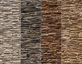 3D Stone Walls Material