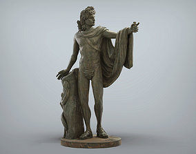 Apollo Greek Statue 3D printable model