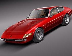 Ferrari Daytona 1968-19 3D model