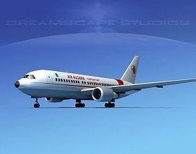 3D model Boeing 767-200ER Air Algerie