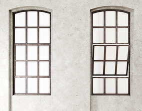 3D model low-poly Loft windows
